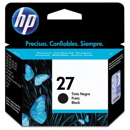 Cartucho HP Original (27) C8727AB - preto rendimento 220 páginas