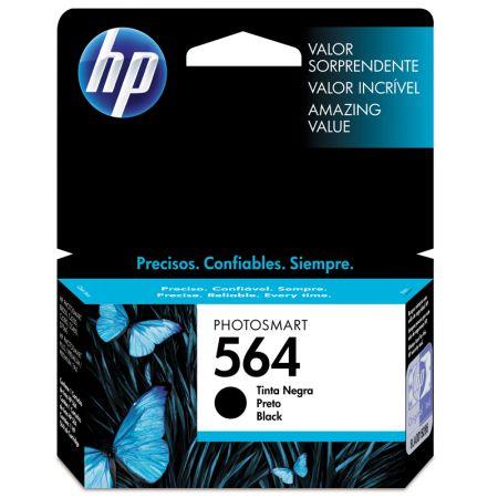 Cartucho HP Original (564) CB316WL - preto rendimento 250 páginas
