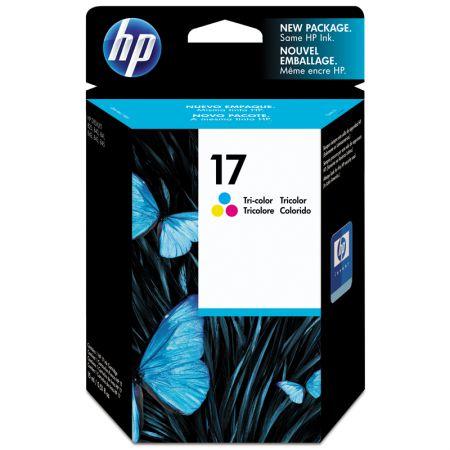 Cartucho HP Original (17) C6625A - cores rendimento 430 páginas