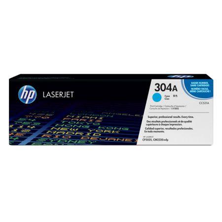 Toner HP Original (304A) CC531A - ciano 2800 páginas