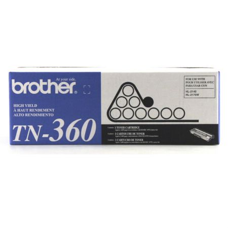 Toner Brother TN360 - preto 2600 páginas