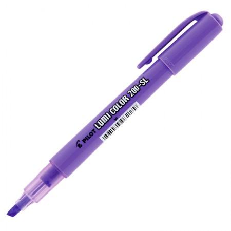 Pincel marca texto 200-SL Lumi Color - violeta - Pilot