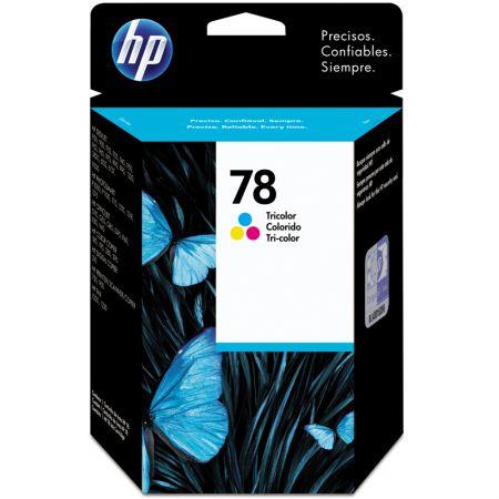 Cartucho HP Original (78) C6578D - cores rendimento 450 páginas