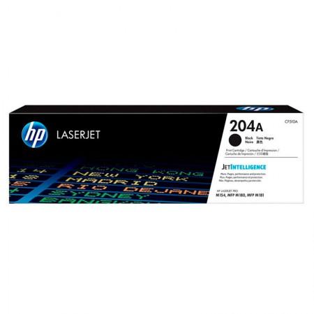 Toner HP Original (204A) CF510A - Preto aproximado 1100 páginas