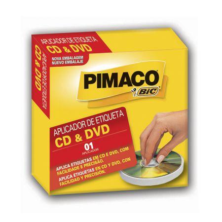 Aplicador de etiqueta CD/DVD - Pimaco