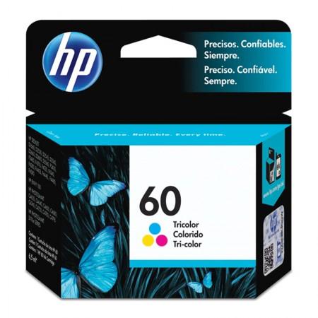Cartucho HP Original (60) CC643WB - cores rendimento 165 páginas