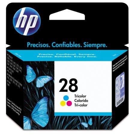 Cartucho HP Original (28) C8728AB - cores rendimento 190 páginas