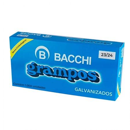 Grampo galvanizado 23/24 - com 1000 unidades - Bacchi