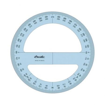Transferidor acrílico 360 graus 8312 - Trident
