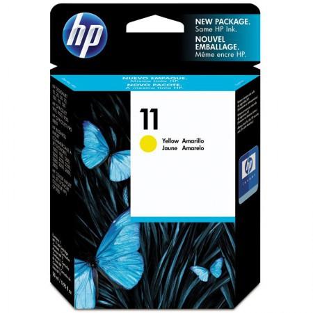 Cartucho HP Original (11) C4838A - amarelo rendimento 1.750 páginas