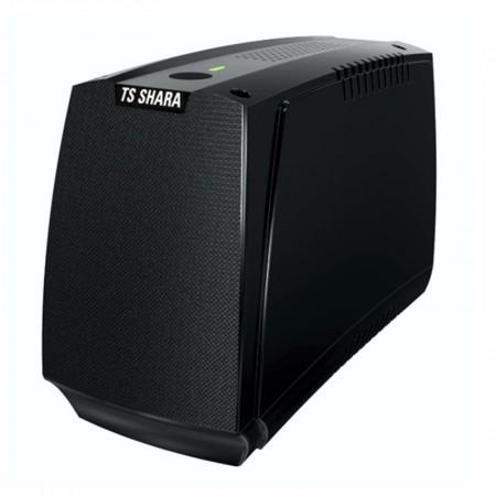 No-break bivolt 1200VA preto - UPS Compact 4023 6 tomadas - TS Shara