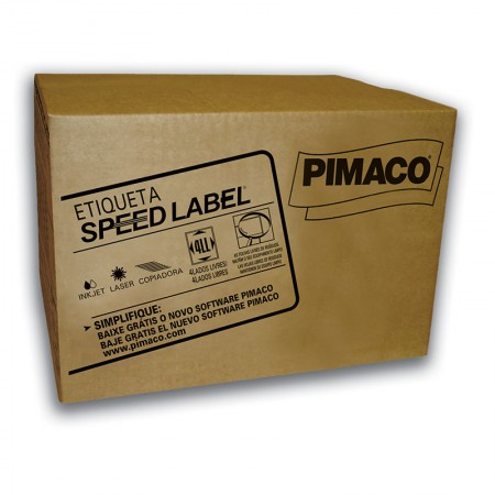 Etiqueta laser Speed Label SLA41074 1000fls Pimaco