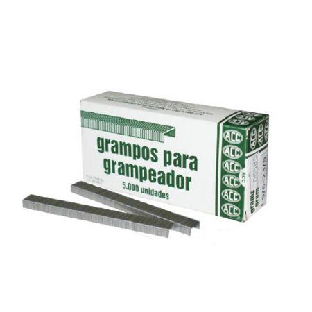 Grampo galvanizado 23/6 - 9/6 - com 5000 unidades - ACC