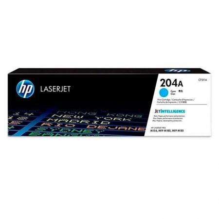 Toner HP Original (204A) CF511A - Ciano aproximado 900 páginas
