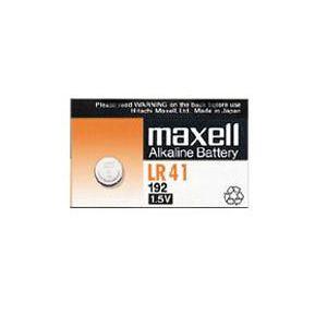 Bateria 1.5 volts LR41 - Maxell