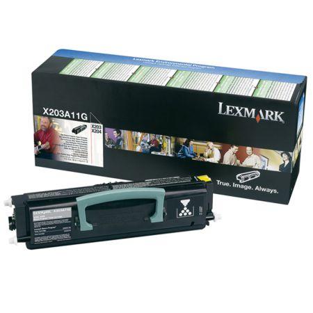Toner Lexmark X203A11G - preto 2500 páginas - serie X203/X204