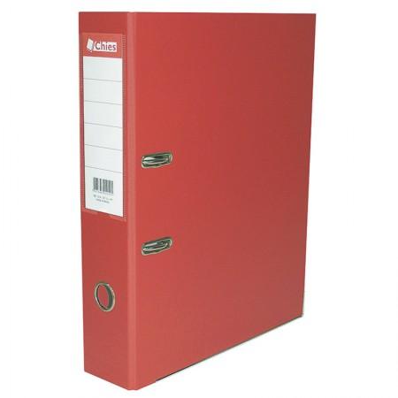 Registradora AZ A4 LL 1086 - vermelho - Chies