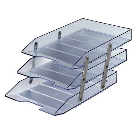 Caixa correspondência tripla articulável - cristal - 245.3 - Acrimet