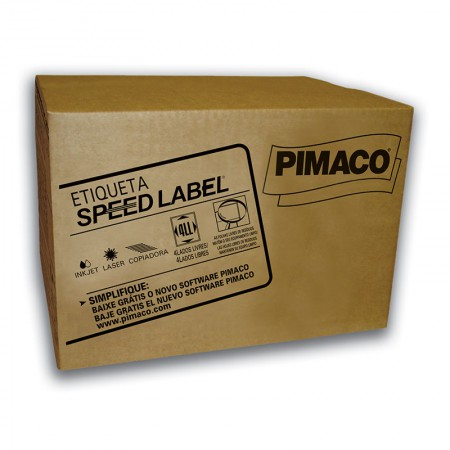 Etiqueta laser Speed Label SL61080 1000fls Pimaco