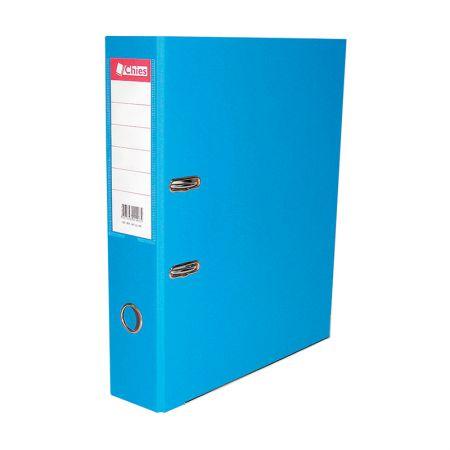 Registradora AZ ofício LL 1007 - azul celeste - Chies