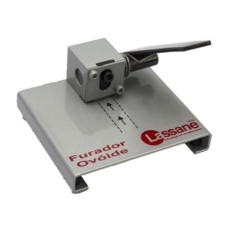 Perfurador ovóide de crachás 1 furo - 01197 - Lassane