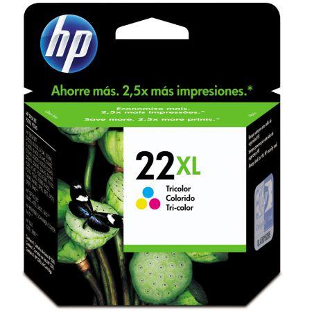 Cartucho HP Original (22XL) C9352CB - cores rendimento 415 páginas