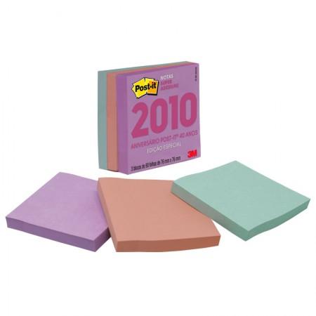 Bloco Post-It cubo bali coleção anos 2010 270fls 3M