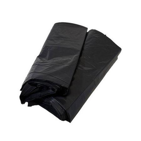 Saco para lixo 40 litros - preto - pacote com 100 unidades