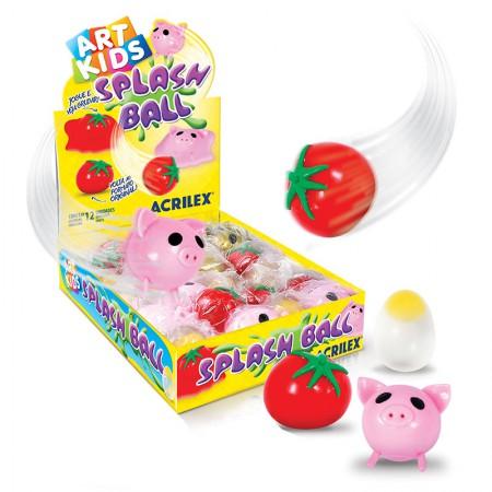 Splash Ball Diversos - Art Kids - 40035 - unidade - Acrilex