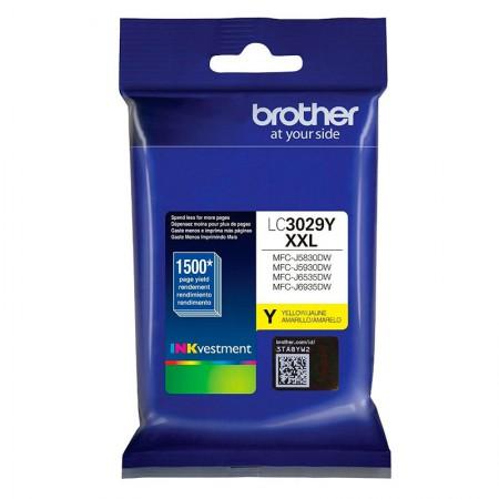 Cartucho Brother LC3029Y - Amarelo 1.500 páginas
