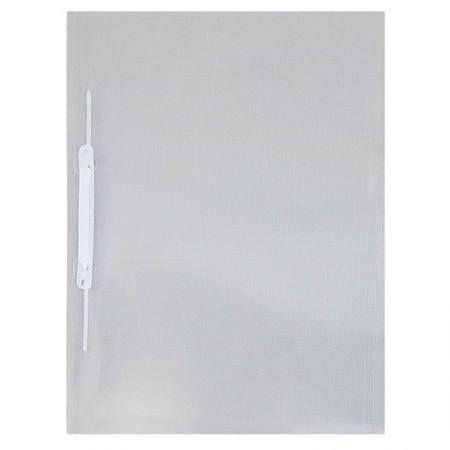 Pasta com grampo trilho ofício plástica - Cristal - 1039.CR - ACP
