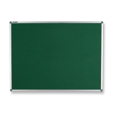 Quadro feltro verde moldura de alumínio - 40x60cm - Board Net
