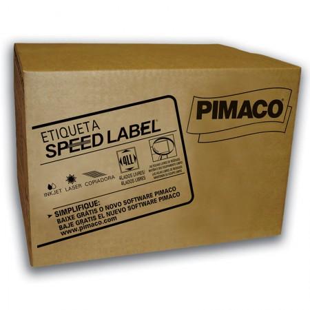 Etiqueta laser Speed Label SLA41075 - com 1000 folhas - Pimaco