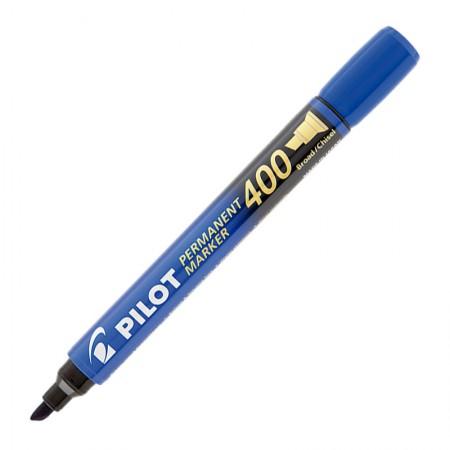 Pincel permanente marker - SCA-400 - Azul - ponta chanfrada - Pilot