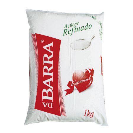 Açúcar refinado 1kg - Barra