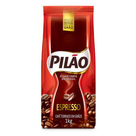 Café em grão - pacote com 1 Kg - Pilão