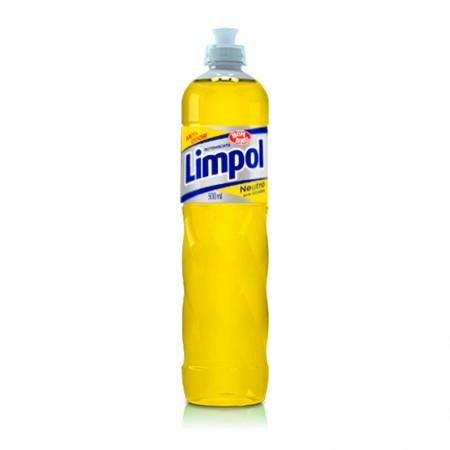 Detergente liquido Limpol neutro 500ml - Bombril