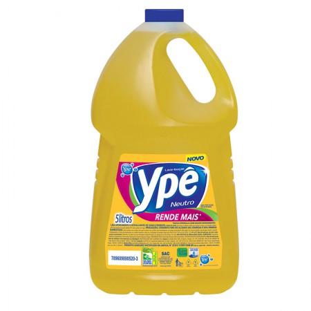 Detergente líquido neutro - com  5 Litros - Ypê