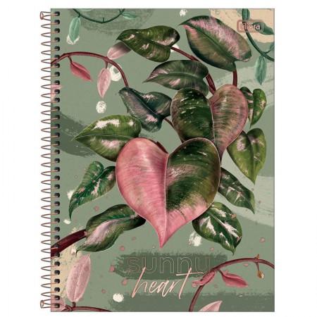 Caderno espiral capa dura universitário 1x1 - 80 folhas - Naturalis - Capa 3 - Tilibra