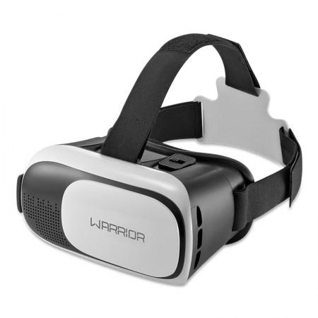 Óculos Gamer Warrior realidade virtual 3D branco e cinza - JS080 - Multilaser