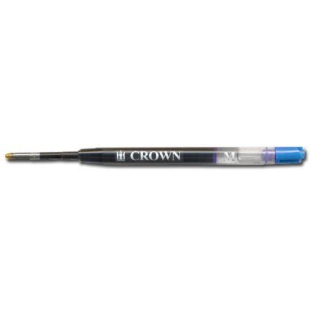 Carga para caneta esferográfica gel azul CA17004A - Crown