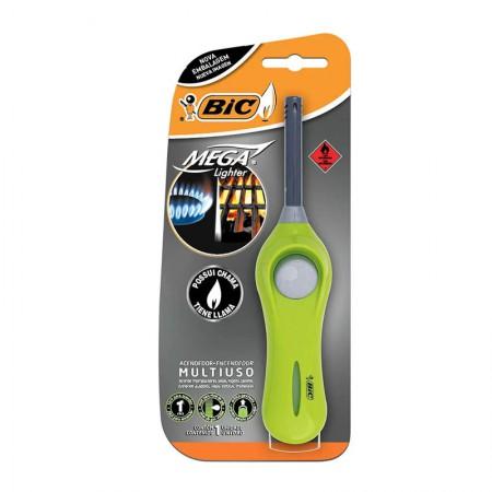 Isqueiro acendedor multiuso Mega Lighter Flex U140 - Bic