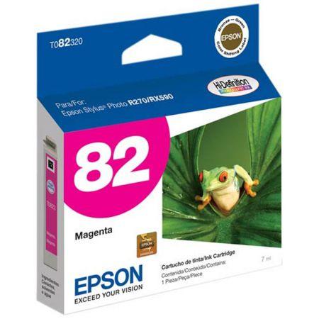 Cartucho Epson (82) T082320 - magenta 515 páginas