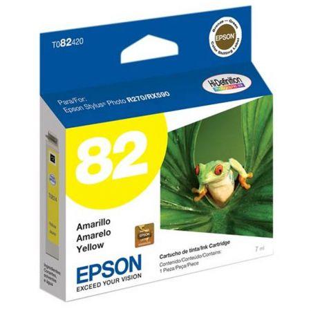 Cartucho Epson (82) T082420 - amarelo 515 páginas