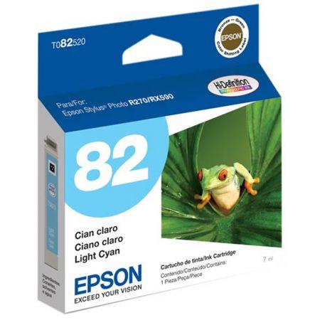 Cartucho Epson (82) T082520 - ciano claro 515 páginas