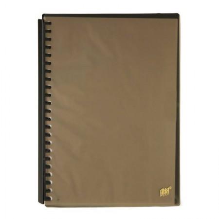 Pasta catálogo A4 espiral - fumê - 2320C - com 20 envelopes - Yes