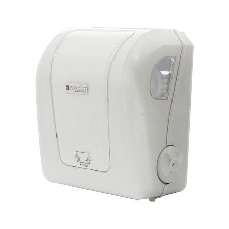Toalheiro para papel toalha bobina puxe - E-DPCM007 - Branca - Exaccta