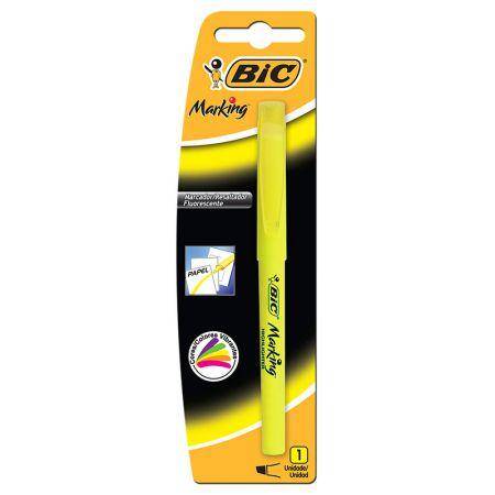 Pincel marca texto Marking amarelo - com 1 unidade - Bic
