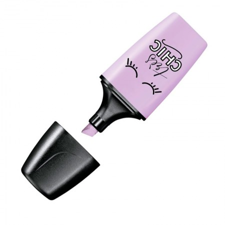 Pincel marca texto mini Boss Pastel Love - Lilas - 07/155-7 - Stabilo