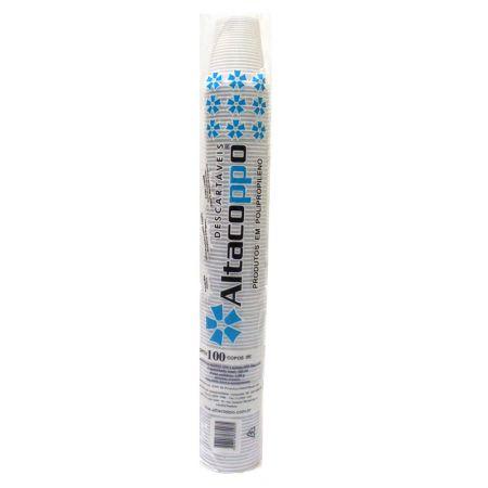 Copo plástico descartável Super Premium 200ml 100und Altacoppo